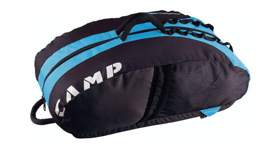 Camp Rox - Mochilas de escalada / Bolsa para cuerda - azul/negro